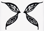 Stained Glass Fairy Wings by ChaosFay