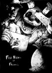 Five Nights at Freddy's WIP Ink by BrianXKaren
