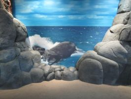 Rocky Background Stock by chamberstock