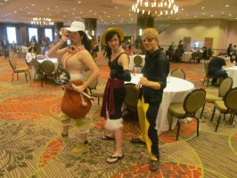Animefest '13 - One Piece 5 by TexConChaser