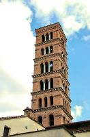 Rome - Bell Tower by Lauren-Lee