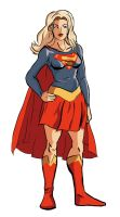 Supergirl by Benjaminjuan