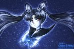 Commission: Sailor Celestial Moon by galia-and-kitty