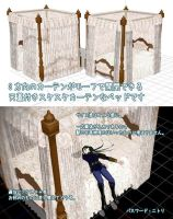 MMD princess canopy bed Download by Hack-Girl