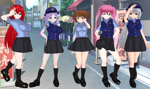 Sakigake Generation Police by quamp