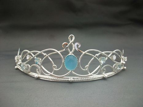 The Shannon tiara by ElnaraNiall