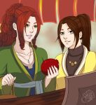 Xifeng and Daiyu by SaiKats