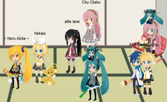 Vocaloid time on TM by ItalyXD