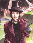 Johnny Wonka by spiderlady