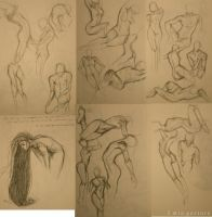 .Oct 6 2 Min Gesture. by Lii-chan