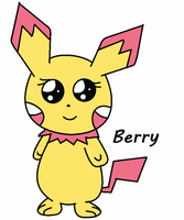 Meet my Adorable Pichu ^^~Berry by AlyssaThePikachu