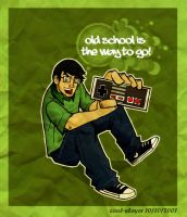Old School by cool-slayer