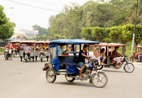 Rush Hour in Iquitos by Photoburner