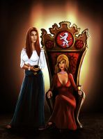 First Sisters - Wheel of Time by endave