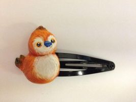 Pepe Hair clip by Blindfaith-boo