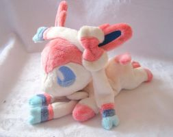 Sylveon Beanie Baby by FollyLolly