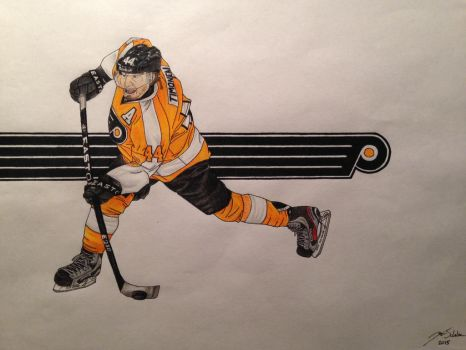 Kimmo Timonen by Trooper1212