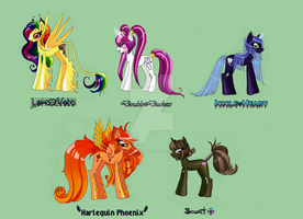 My Little Pony Adoptables (Closed) by sinister-puppet
