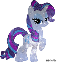 [MLP] Rarity Galaxy's Power by MixiePie