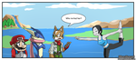New Challenger: Wii Fit Trainer by ColdSandwich