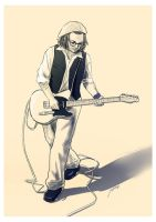 2012-10-20 Guitarist by amoykid