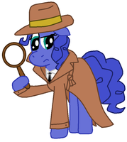 Detective Blueberry Pie, Private Eye by FreshlyBaked2014