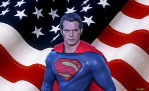 Truth, Justice and the American way. by supermanscape