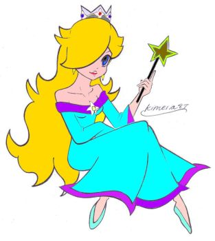 Rosalina Color by cptdon