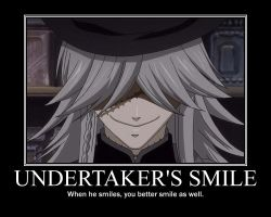 Undertaker's Smile by AmayaChi