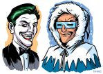 The Joker and Captain Cold by D-MAC