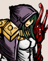 Hooded Woman by Endless-warr