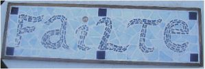 """Failte"" Mosaic by CeltCraft"