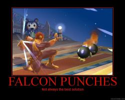 Brawl demotivational: Punches by Kingofsouls