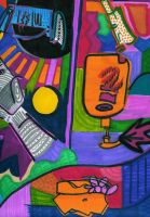 Detail Of Abstract One by RSaffold