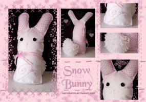 Snow Bunny by KarenKaren