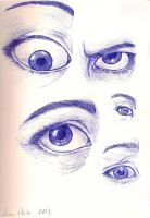 Eyes Doodle by Puppy2388