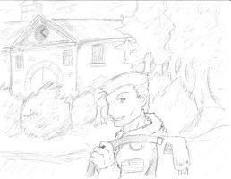 Consept art: A picture of home by gabboge