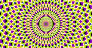 Expansion Contraction - Peripheral Drift Illusion by H-Flaieh