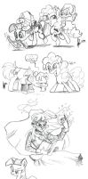 Rotterdam Brony meet sketches by TheArtrix