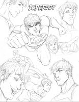 Young Justice CD Superboy by nathanscomicart