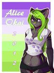 Alice Okai Badge 2012 by l-Blair-l