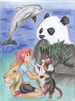 Love for animals by timko77