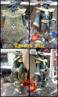 Twisted Fate: The card master papercraft by DarkRockerRUS