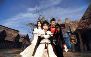 Vindictus Family Vacation by RoninMoose
