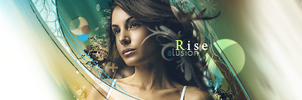 Rise high signature by Alusionx