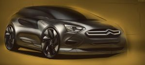 Citroen Concept Render by FCD94