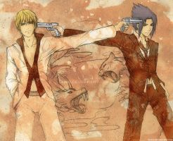Go with a Bang +sketch ver.+ by Qinni