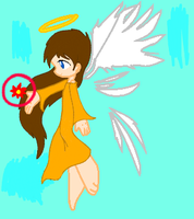 The young angel by cartoongirl211
