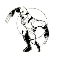 Old School Wolverine Commission by ccicconi