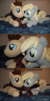 Derpy and Doctor Hooves by LanaCraft